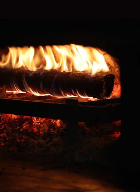 Pidelerimiz Odun Ateşinde Pişer